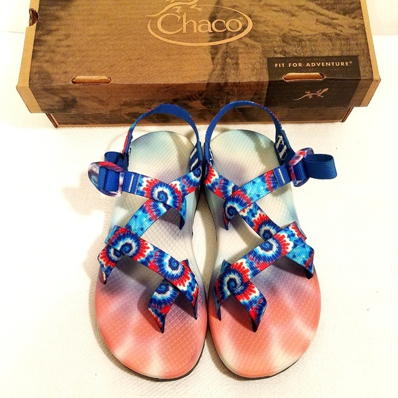 0deafb4fdb4 LIMITED EDITION CHACO TIE DYE SANDALS